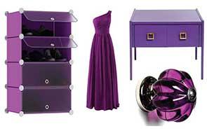 A lila szín - kolor.hu festék webáruház