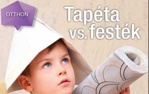 Tapéta vs. festék - kolor.hu festék webáruház