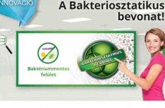 Innováció a festékek világában: A Bakteriosztatikus bevonat!