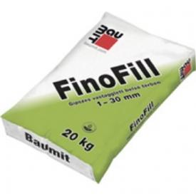 Baumit FinoFill – Beltéri gipszes kézi glettvakolat (1–30 mm)