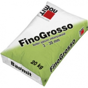 Baumit FinoGrosso – Beltéri gipszes vékonyvakolat 3–30 mm
