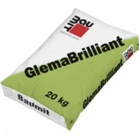 Baumit GlemaBrilliant – hófehér glettanyag kézi és gépi felhordásra