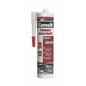 Ceresit CS28 Hőálló szilikon 260 °C  (Vörös)