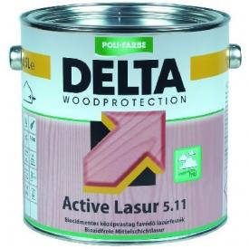 DELTA Active Lasur 5.11 biocidmentes favédő lazúrfesték