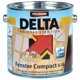 DELTA Fenster Compact 6.05 gombaölőszer-mentes lazúrfesték