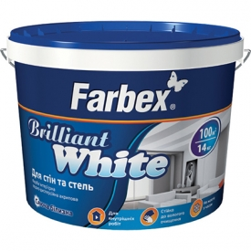 """Farbex """"BRILLIANT WHITE"""" Hófehér, univerzális falfesték"""