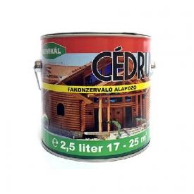 Kemikál Cédrus fakonzerváló alapozó és lazúr festék