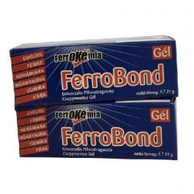 Kemikál Ferrobond gél cseppmentes pillanatragasztó