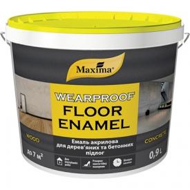 """Maxima """"WEARPROOF FLOOR ENAMEL"""" Kopásálló vizes bázisú padlózománc fára, betonra"""
