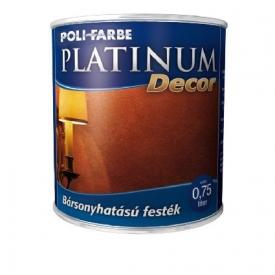 Platinum Decor bársonyhatású festék