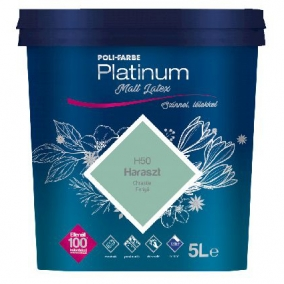 Poli-Farbe Platinum matt latex