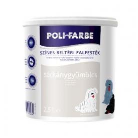 Poli-Farbe színes diszperziós beltéri falfesték